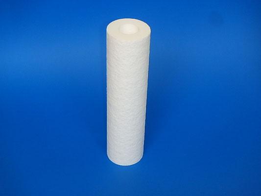カートリッジフィルター 樹脂成型タイプ 材質:ポリプロピレン・ポリエチレン 温度・液体条件により選定