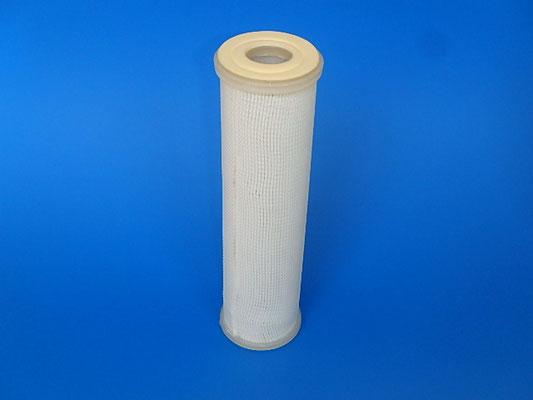プリーツタイプカートリッジフィルター 材質:ポリプロピレン・ナイロン・PTFE等 シール形状 DOE・ 温度・液体・気体条件により選定