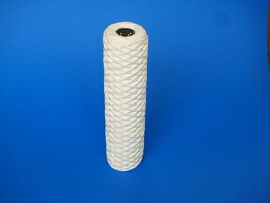 カートリッジフィルター   糸巻タイプ   材質:コットンポリプロピレン等     温度・液体条件により選定
