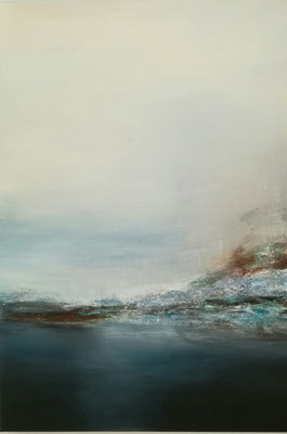 Spiegelung, 70 x 100, 2018