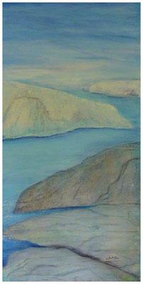 Fjord  , 50 x 100 , 2012