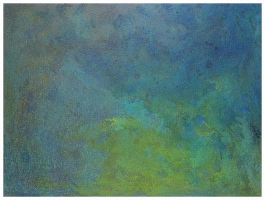 Ozeanblau , 60 x 80