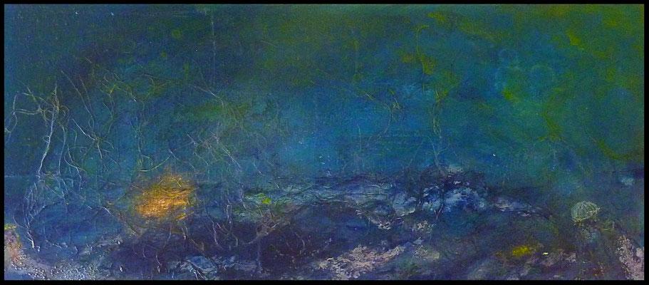 Unterwasser I , 70 x 30 , 2015