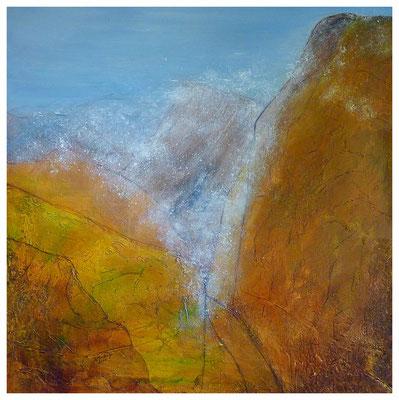 Gebirge II , 90 x 90