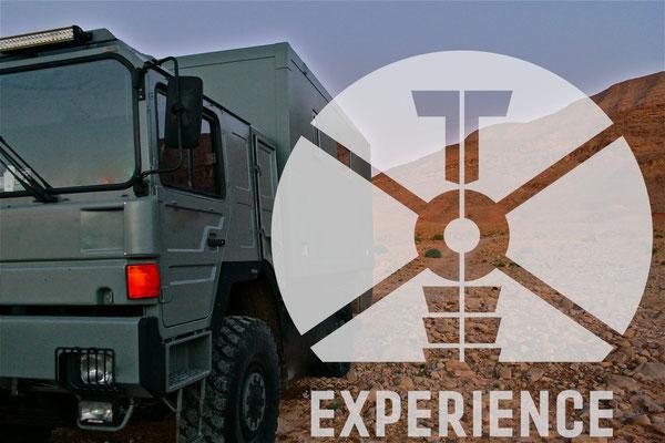 Toe-Experience weltweit unterwegs in Marokko - mit Allrad oder ohne - Onroad und Offroad - hauptsache alles funktioniert und das dauerhaft, dank einfacher Technik. Zuverlässig und überschaubar. Echte Weltreisemobile für die top to toe experience