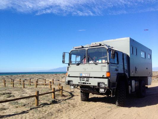 Im Expeditionsmobil entlang der spanischen Mittelmeerküste