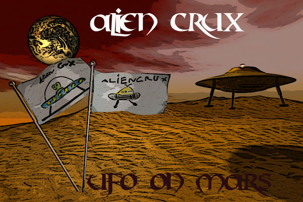 Cover: UFO on Mars