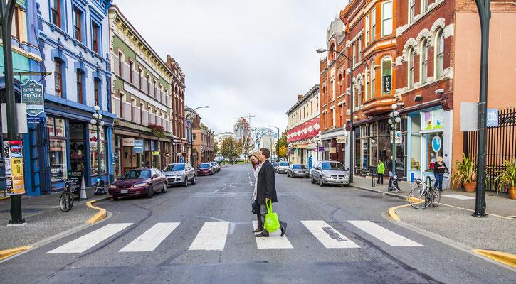 Johnson Street © Tourism Victoria, Alexia Foster