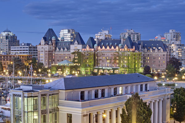 Fairmont Empress Hotel © Canadian Tourism Commission