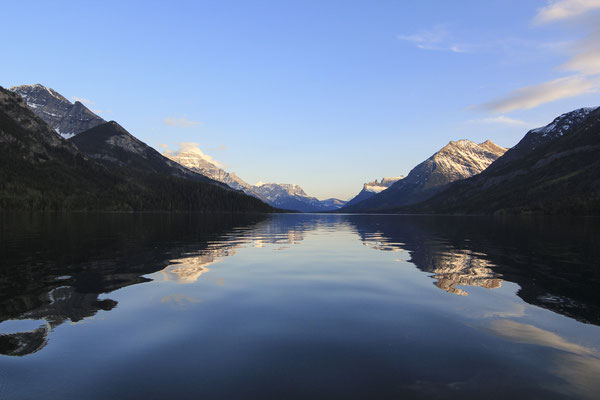 Scenic shot of Upper Lake,  Waterton Lakes National Park, © Parks Canada