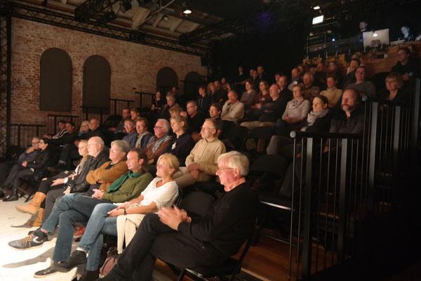 Tolles Programm, interessiertes Publikum, Wahnsinns-Veranstaltung