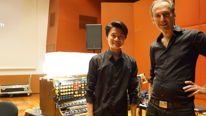Thong Truong (pianist) with Peter Pichler