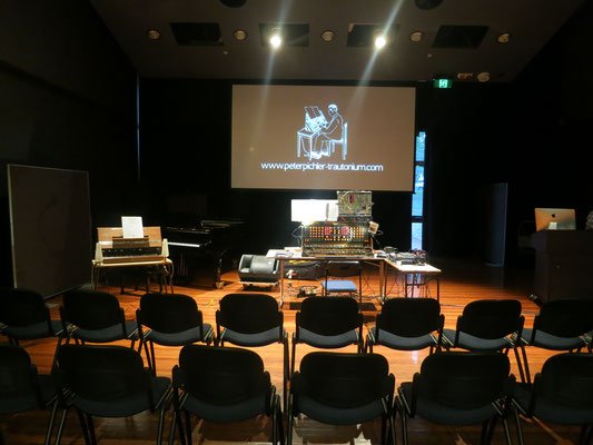 Trautonium Workshop at ANU School of Music Canberra