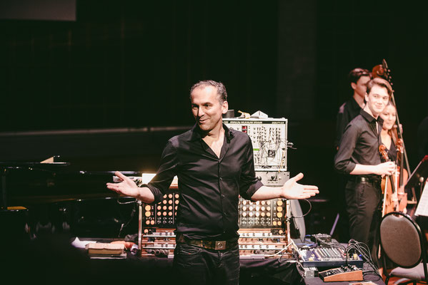 Peter Pichler at the concert