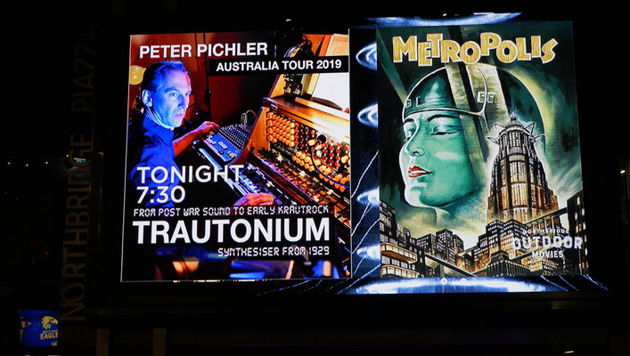 Titel: Peter Pichler at the Trautonium and Metropolis