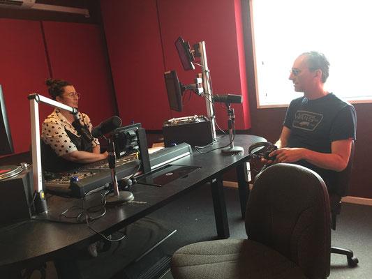 Interview at RTRFM Perth