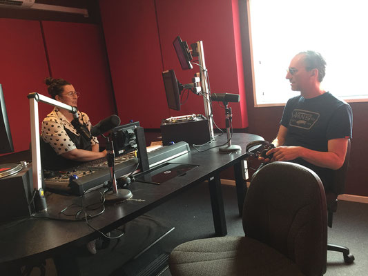 Interview at RTRFM Perth