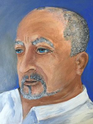 Portrait auf Bestellung Krea Kurse Malschule Allschwil Rice Wunderli ZeichenschuleZeichenschule, Zeichenunterricht, Zeichenkurse, Allschwil, Basel-Land, Zeichnen lernen, Malen lernen