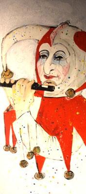 Fastnachtsbild Krea Kurse Malschule Allschwil Rice Wunderli ZeichenschuleZeichenschule, Zeichenunterricht, Zeichenkurse, Allschwil, Basel-Land, Zeichnen lernen, Malen lernen