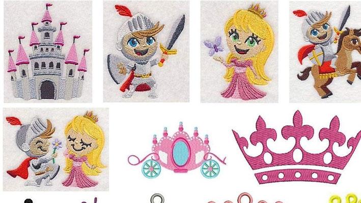 Ritter und Prinzessinnen 2