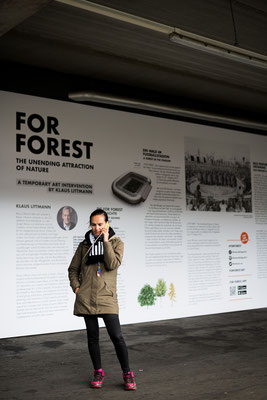 Event- und Projektmanagement: For Forest - eine temporäre Kunstintervention