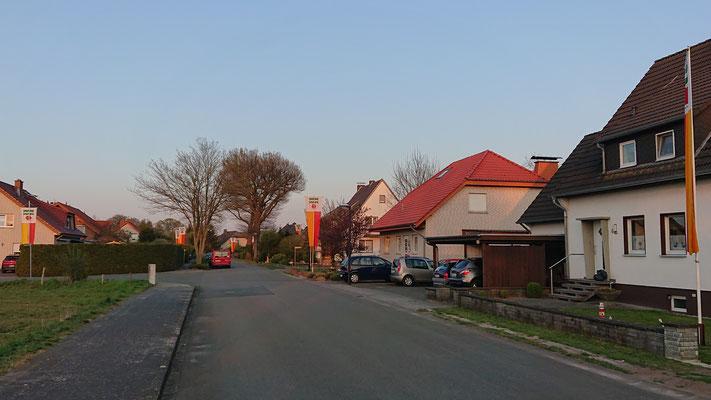 Mantinghausen, Sudhäger Straße / Auf der Heide