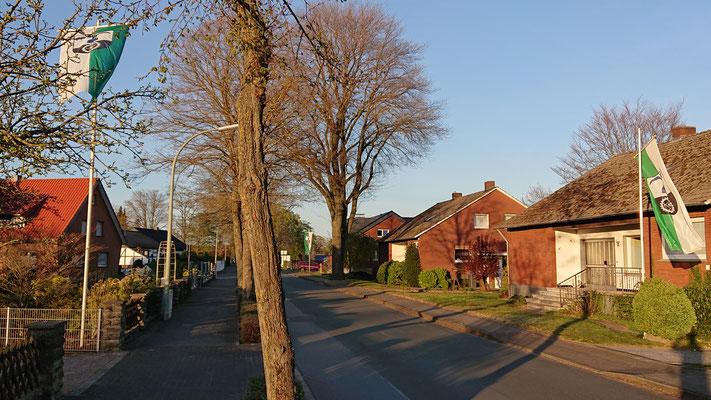 Garfeln, Dörferweg (Ortseingang)