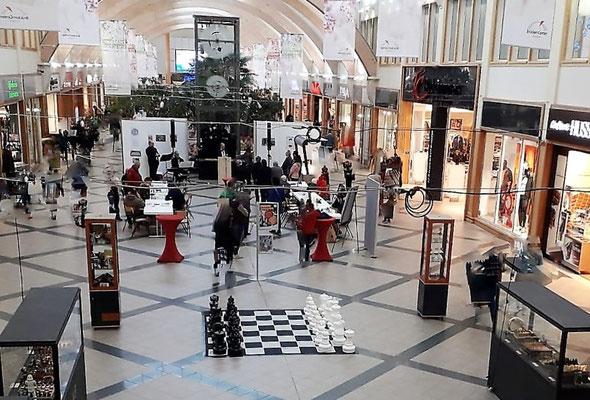 Das Brückencenter Ansbach als freundlicher Gastgeber für die Ansbacher Schachwochen 2019