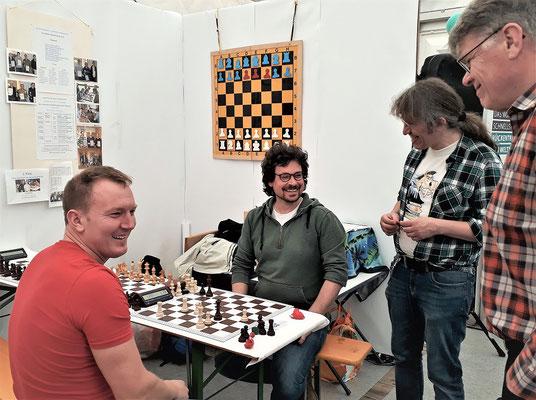 Schach macht sichtlich Spaß!