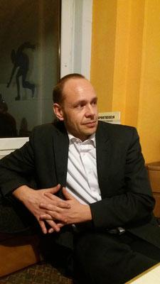 Der 2. Vorstand Günther Mock