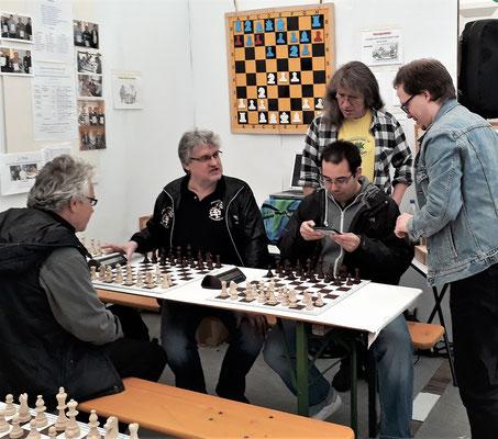 Schachfreunde aus Bechhofen, Ansbach und Heilsbronn