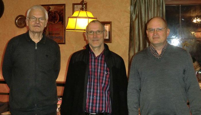 vlnr.: Gerd Fischer, Alfred Witt und Christoph Margraf