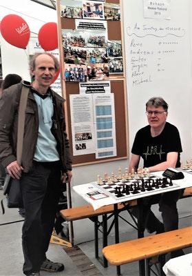 Besuch vom 1. Vorstand vom SC Bad-Windsheim Bernhard Auth