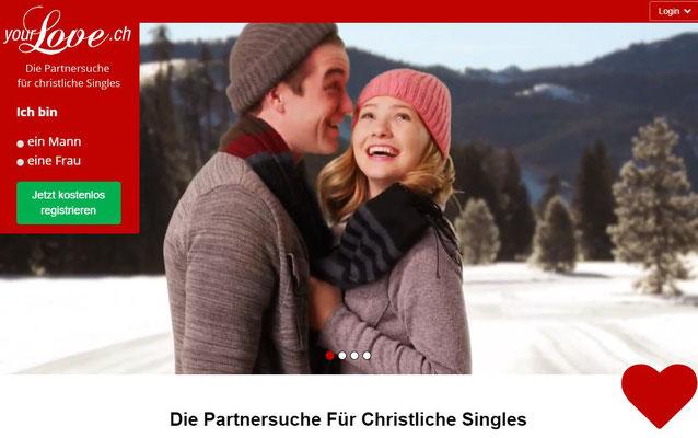 Plattform für christliche Singles auf Partnersuche