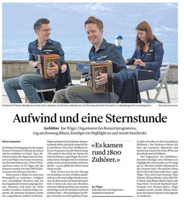 Bote der Urschweiz - 23.09.2016