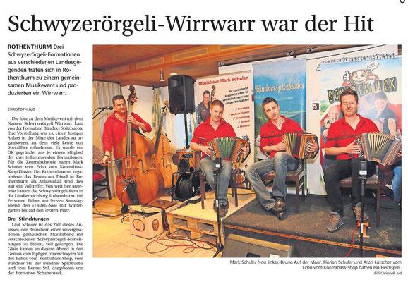 Bote der Urschweiz - 30.05.2016
