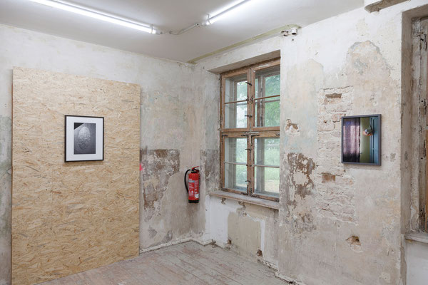 AUGE, Ausstellungsansicht, Raum IV mit Arbeiten von Trogisch und Fißler
