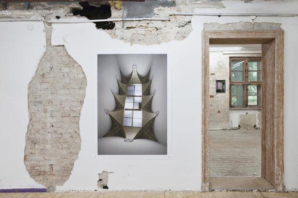 AUGE, Ausstellungsansicht, Raum III mit Arbeiten von Thomas Fißler