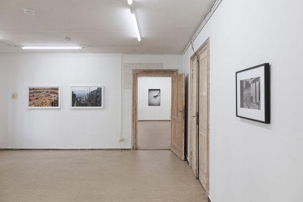 AUGE, Ausstellungsansicht, Raum I mit Arbeiten von Trogisch und Fißler