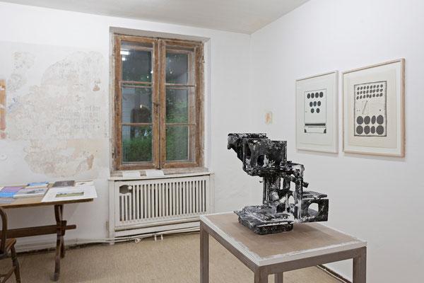 "Jehoshua Rozenman, ""Die Erinnerung"" | Stanisław Fijałkowski, ""16.II.1963"" und ""4.X.64"""