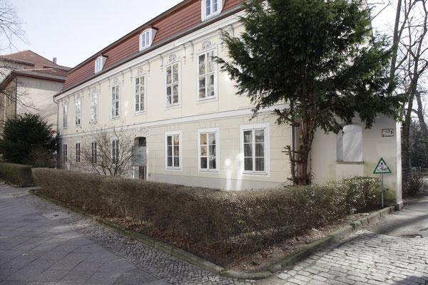 Schoeler Haus · Aussenansicht von der Wilhelmsaue aus