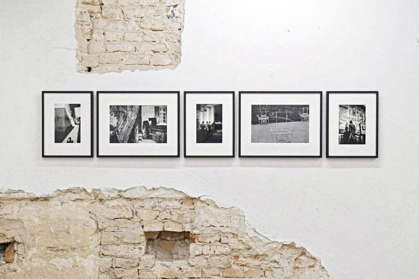 AUGE, Ausstellungsansicht, Raum III mit Arbeiten von Andreas Trogisch