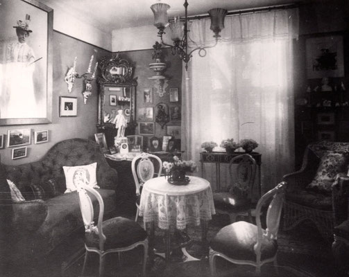 Kleiner weißer Salon, Erdgeschoss, o. J. | © Museum Charlottenburg-Wilmersdorf