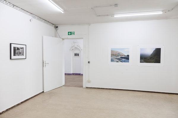 AUGE, Ausstellungsansicht, Raum I mit Arbeiten von Trogisch und Zippel