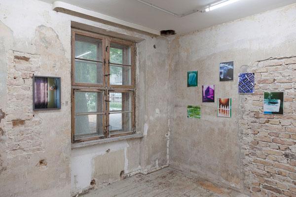 AUGE, Ausstellungsansicht, Raum IV mit Arbeiten von Fißler und Zippel