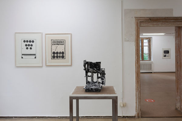 "Stanisław Fijałkowski, ""16.II.1963"" und ""4.X.64"" | Jehoshua Rozenman, ""Die Erinnerung"""