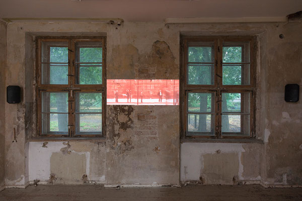 """georg klein, """"warten / waiting"""", 2015"""