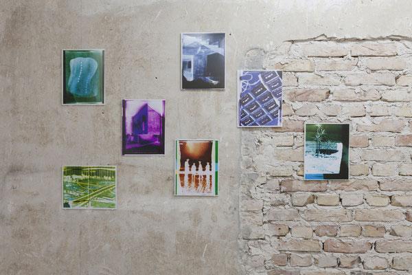 AUGE, Ausstellungsansicht, Raum IV mit Arbeiten von Edgar Zippel