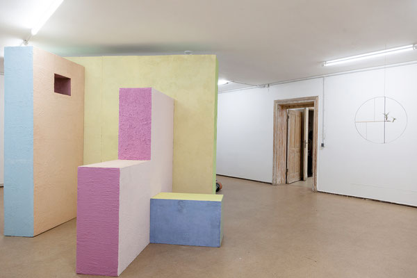 "Meike Kuhnert & Michel Aniol, ""Bearing and Weighing - Circular Thinking"", 2019   Ulrich Vogl, ""duett"", 2016"