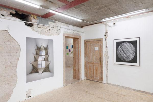 AUGE, Ausstellungsansicht, Raum III mit Arbeiten von Fißler und Trogisch